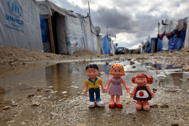 Refugee Camp Life, 2014