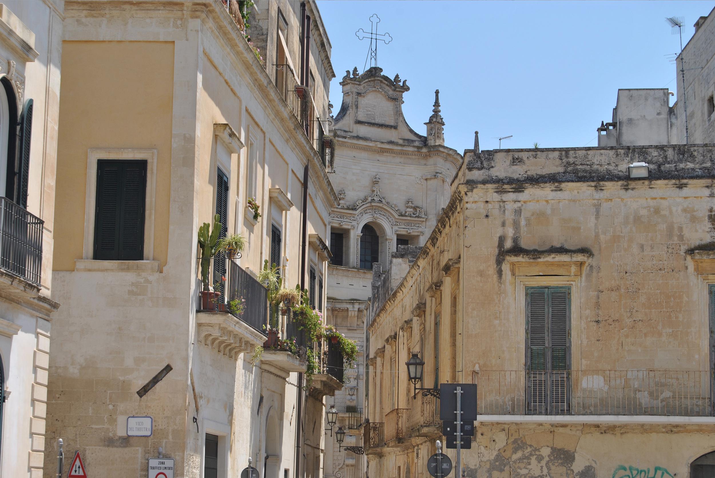 Sud-Est Apulia Salento PugliaBarocco Leccese Architecture