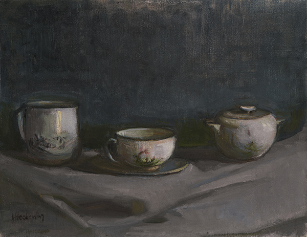 Coffee Cups and Sugar Bowl