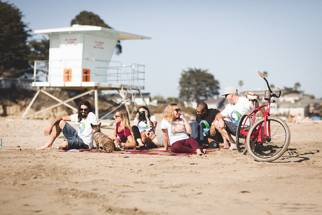 KindPeoples staff works hard, but we also take time to enjoy the beauty of Santa Cruz!