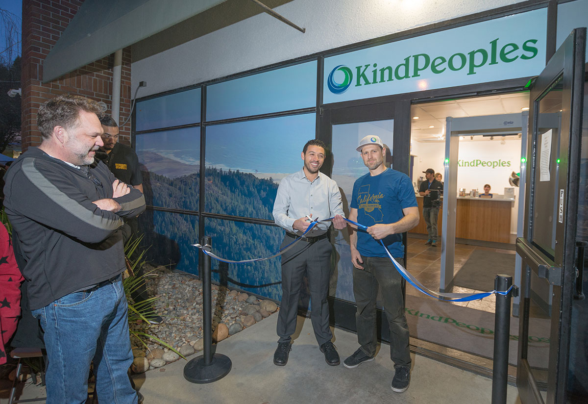 KindPeoples founders opening the dispensary to all adults on Jan. 1, 2018, under new laws legalizing commercial cannabis sales and use.