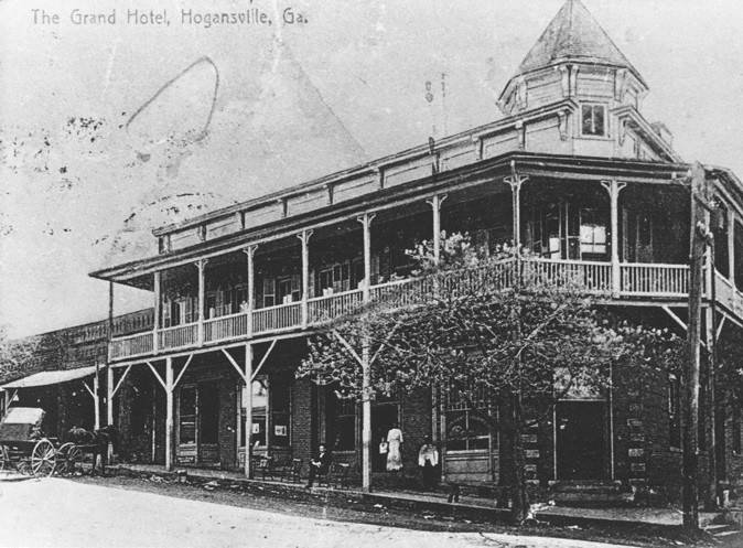 The Grand Hotel at the turn of the century.