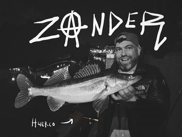 Pre Electric Eel Shock concert fishing party. #zander #fishingisnumberone #nightlurking #streetfishingisdead #huerco