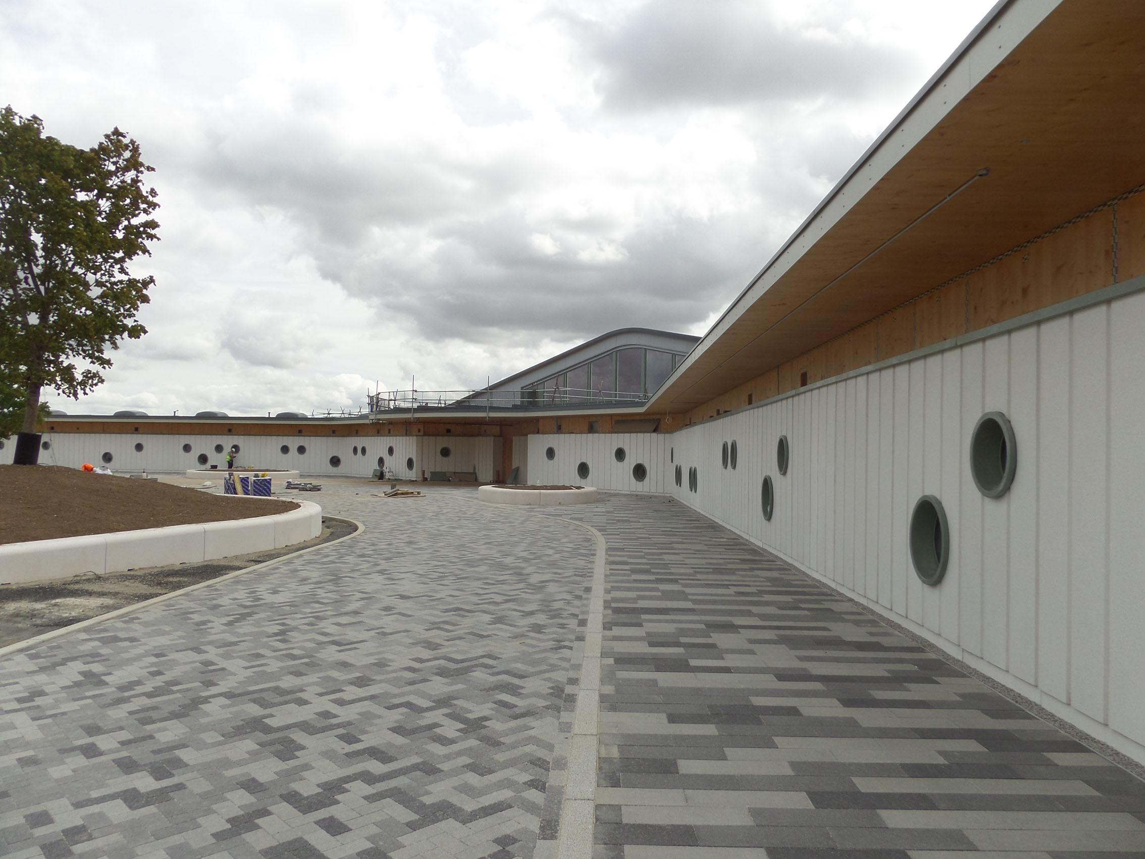 Ermine Street Church Academy - Front Forecourt.jpg