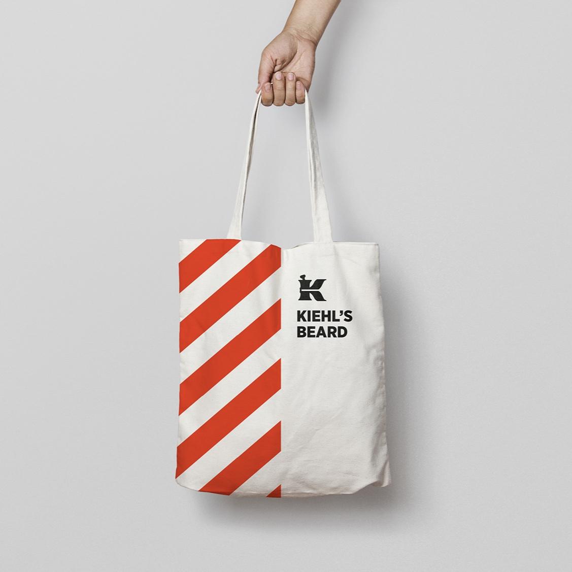 Kiehl's Beard - Nueva imagen para tu producto, tu etiqueta y packaging - mejora tu imagen corporativa con un diseño único.