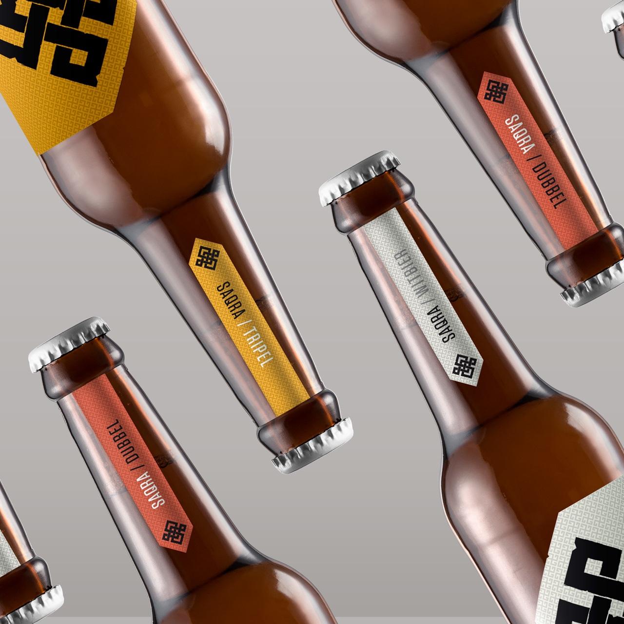SAQRA - Nueva imagen para esta cerveza con un toque innovador, una imagen reconocible a primera vista. Damos un toque de diseño al packaging, fotografíamos la gama de productos y gestionamos el branding en las Redes Sociales.