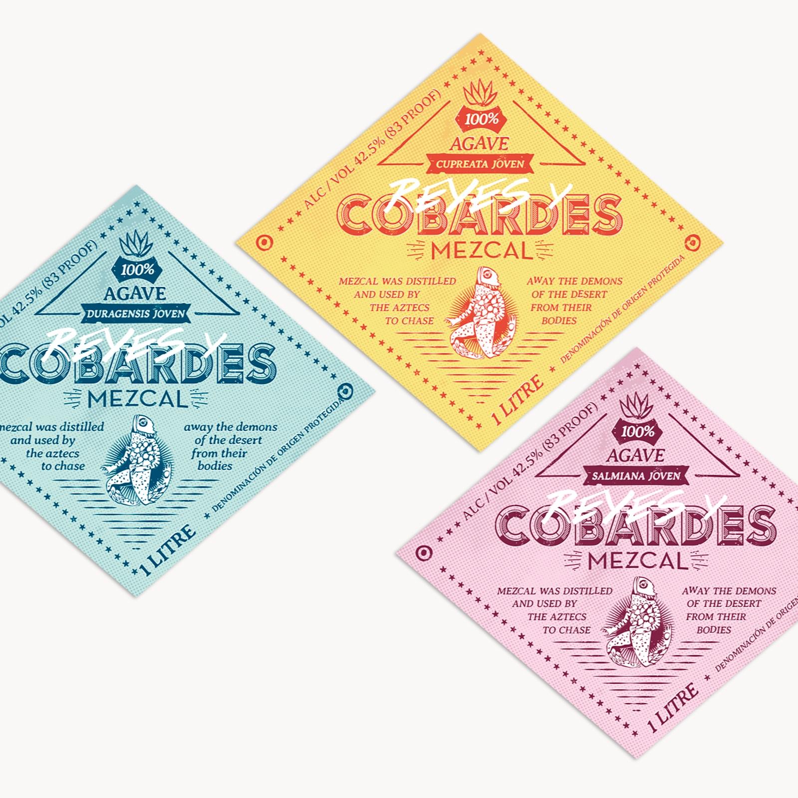 MEZCAL - Aires renovados para un producto de origen tradicional, rediseño de imagen y nuevas etiquetas.