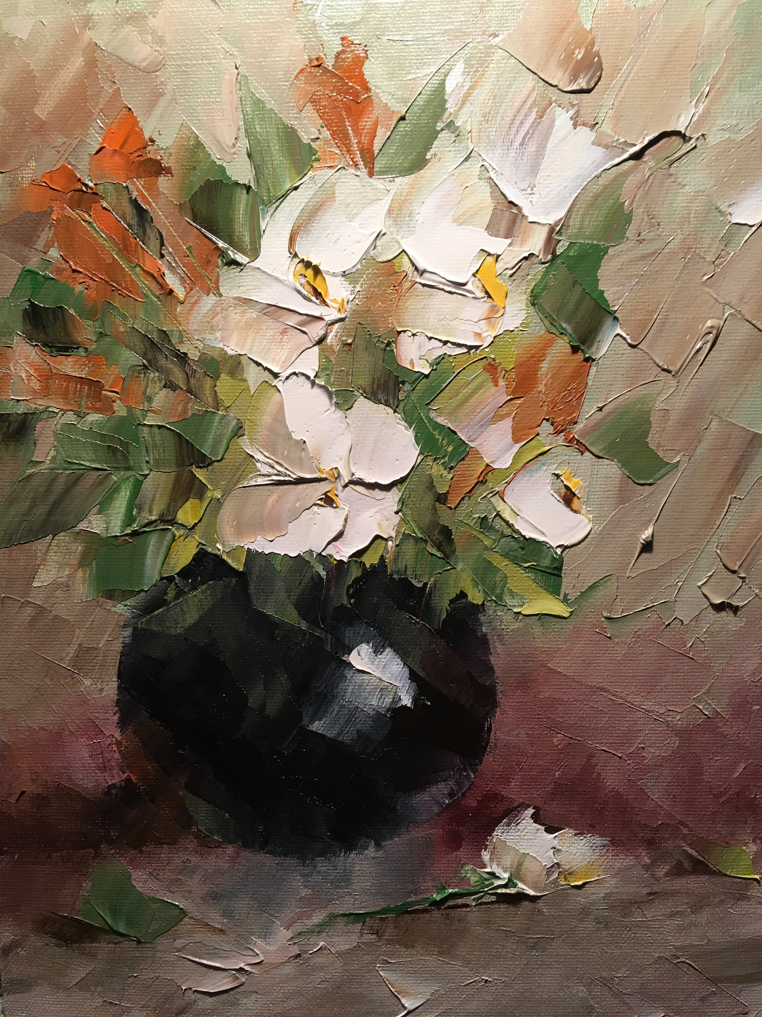 """""""Black Vase Floral"""""""