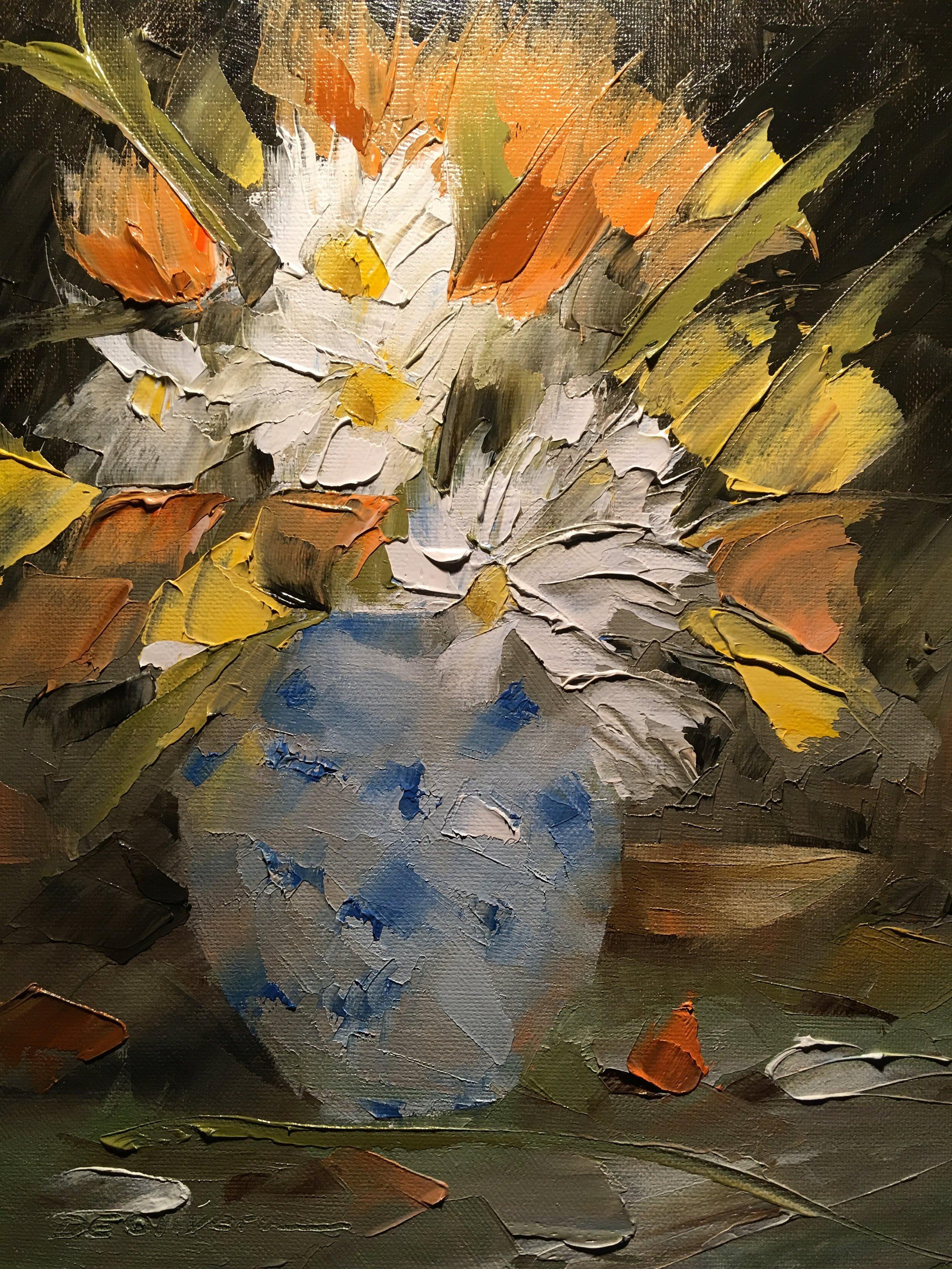 """""""Blue Vase Still Life"""""""