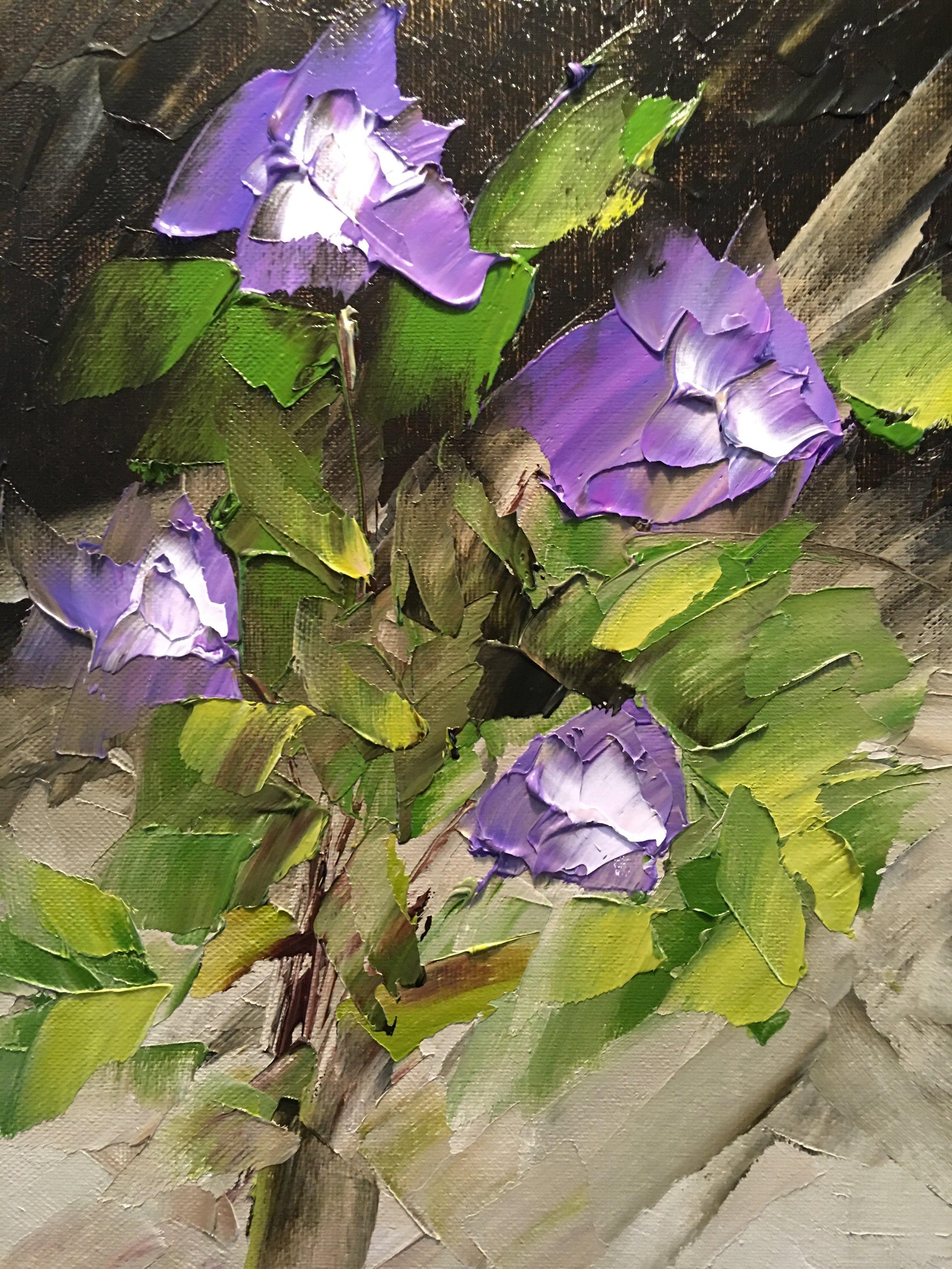 """""""Purple Pansies"""""""