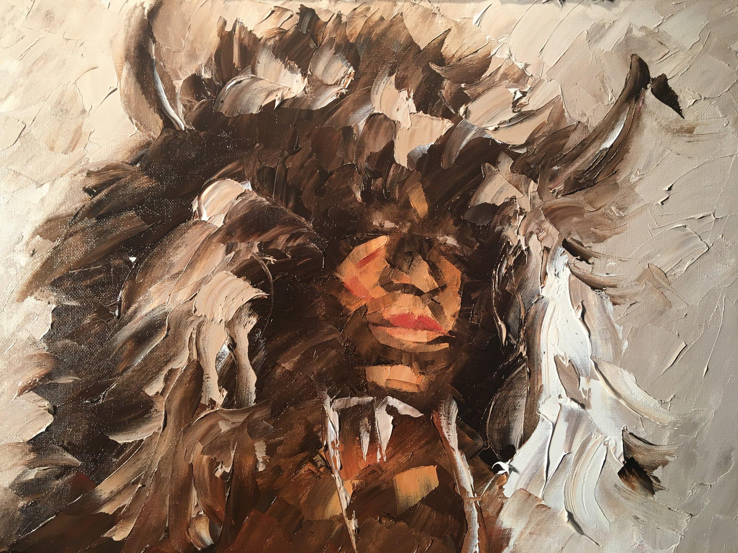 """""""Zia Buffalo Mask"""""""