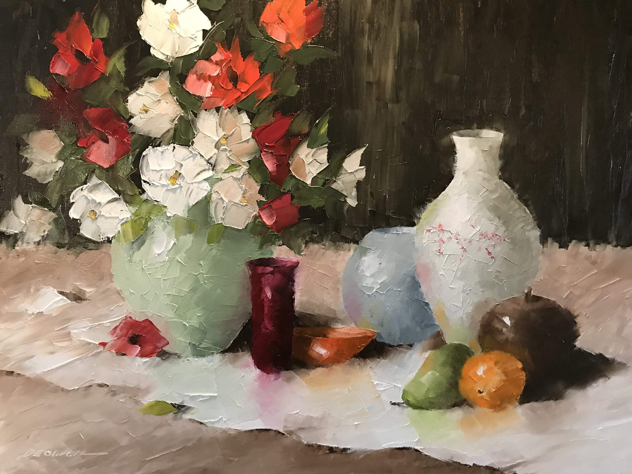 """Flowers and Pots"""