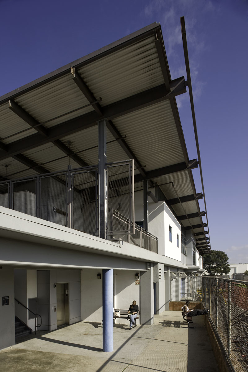 Physical Education Building Exterior
