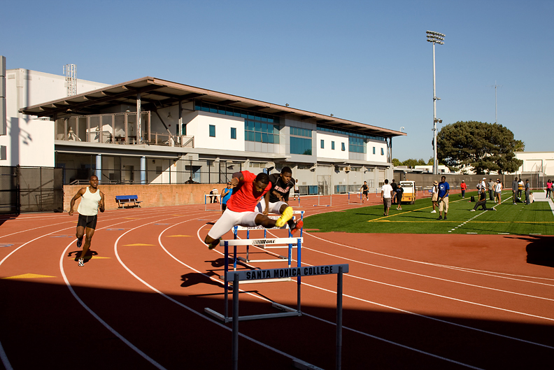 Physical Education Building Track