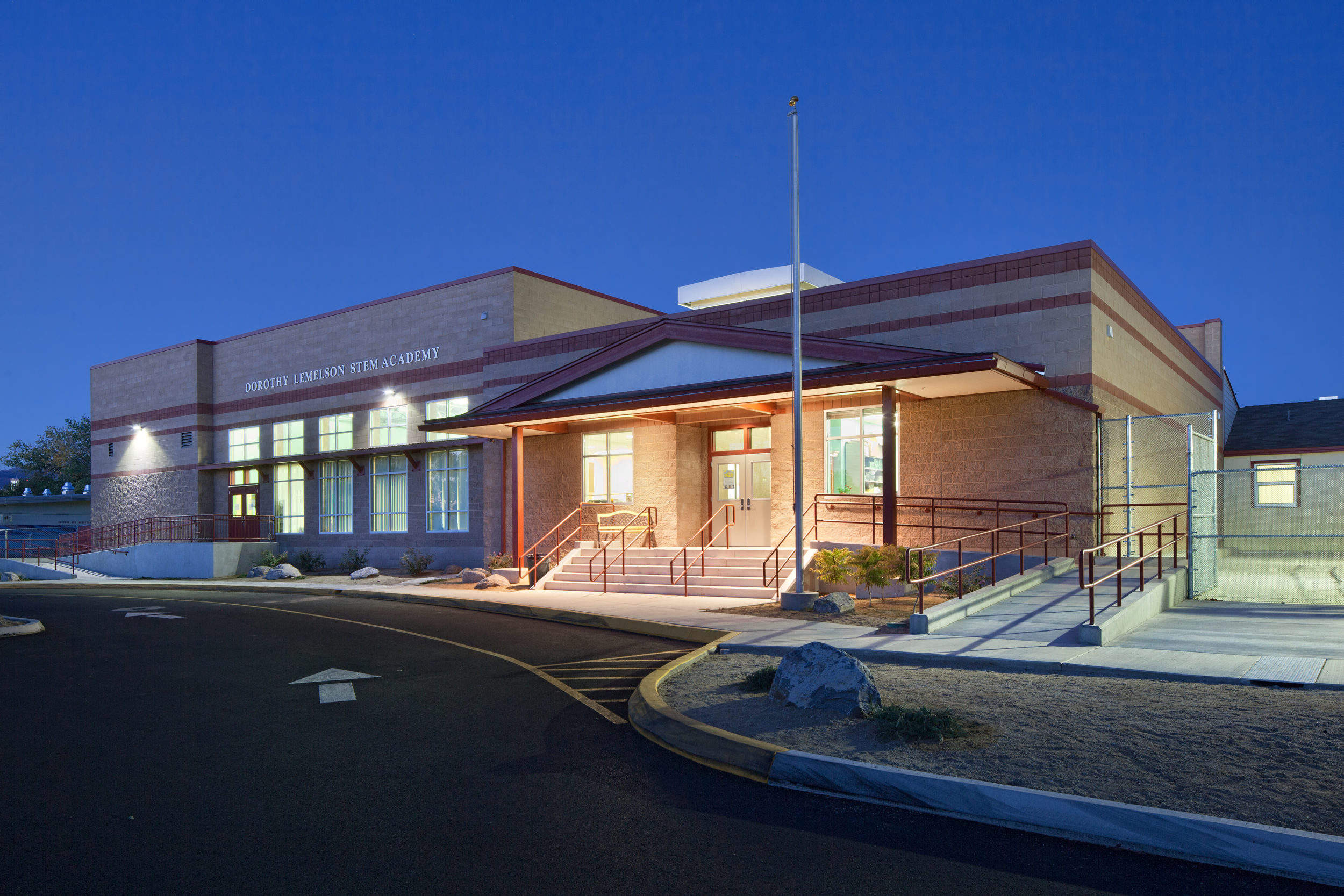 Dorothy Lemelson Academy Exterior
