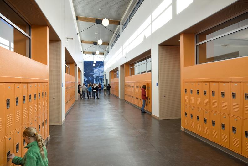 Silverlan Middle School Interior