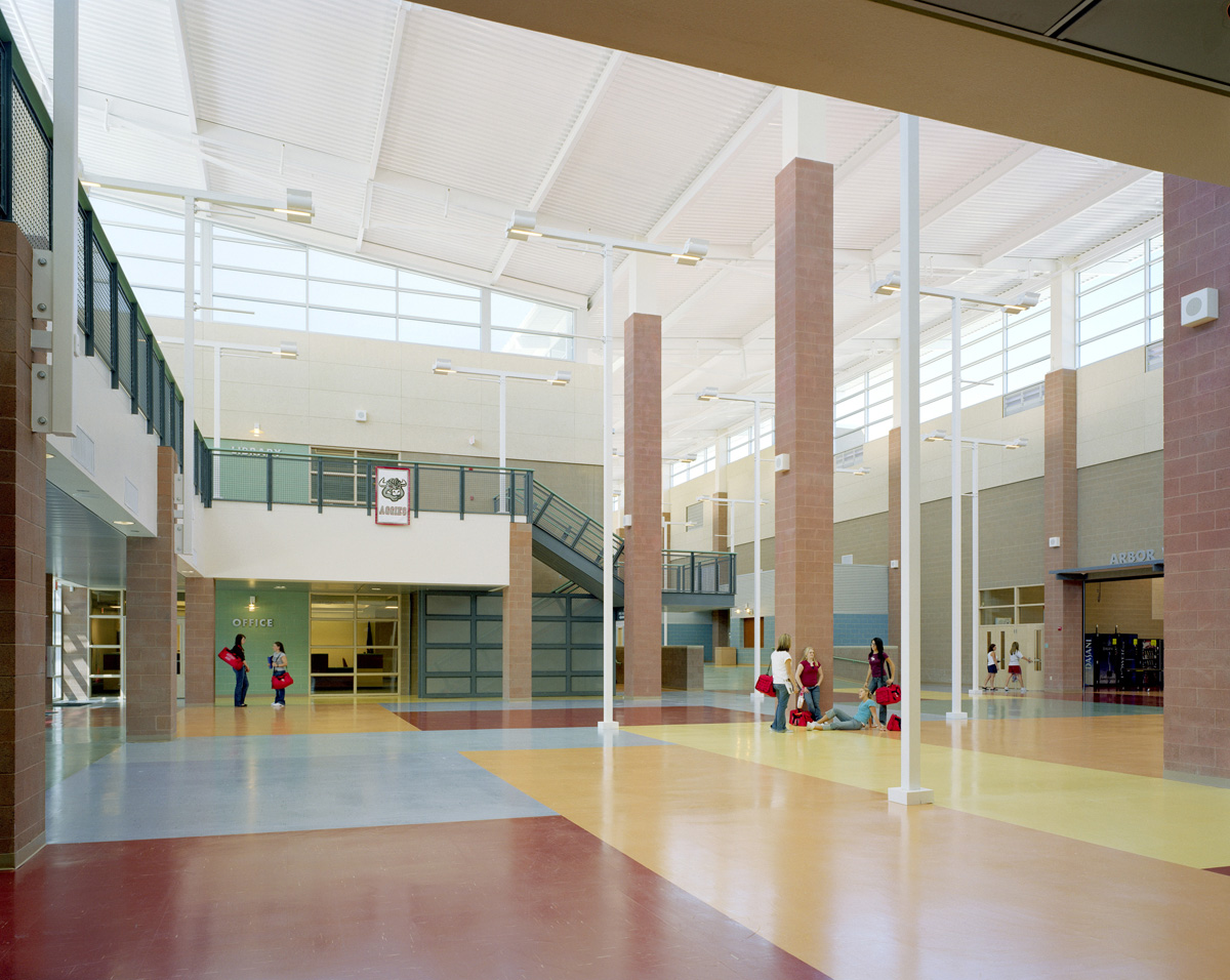 Arbor View High School Interior