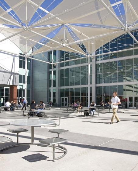 UNLV Student Union Courtyard