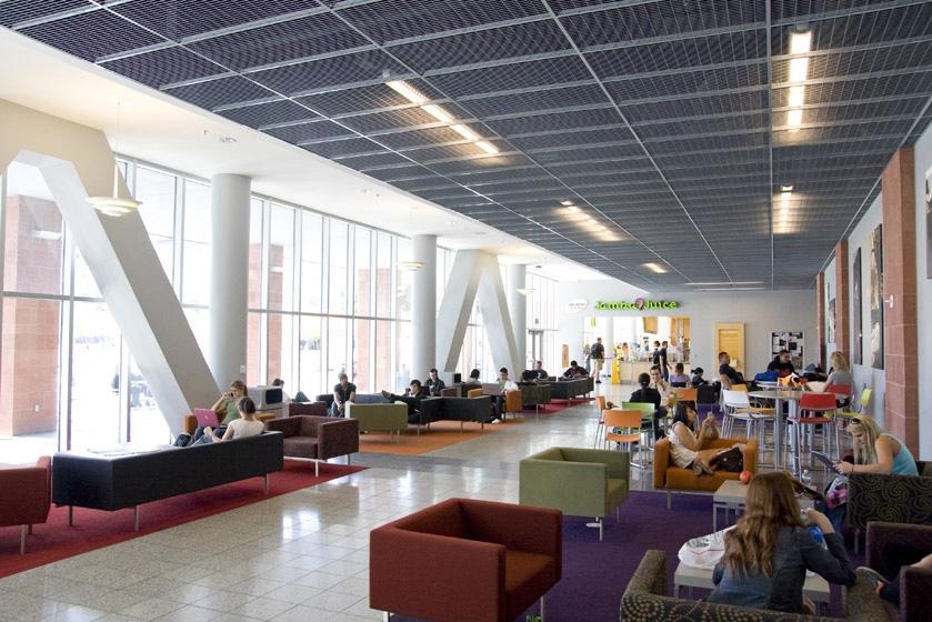 UNLV Student Union Second Level Lounge