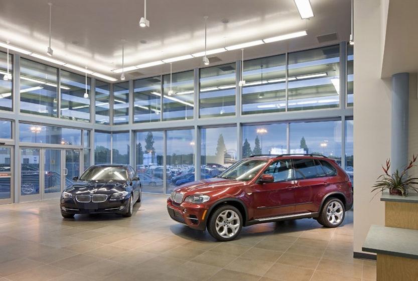 Cerritos College Auto Showroom Interior