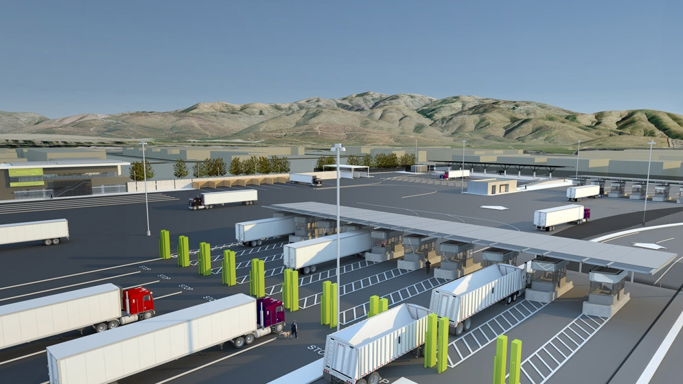 Otay Mesa Land Port Rendering