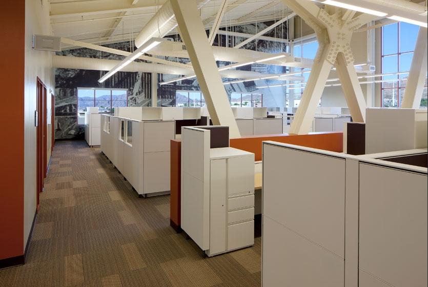 US Bureau of Reclamation Administration Building Interior