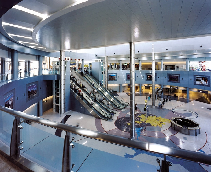 McCarran International Airport D Gates Interior