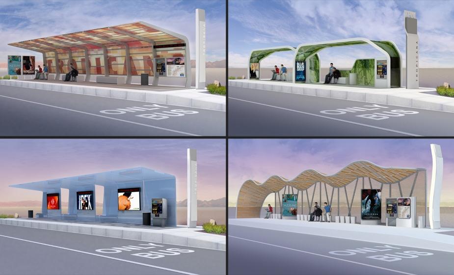 Ace Rapid Transit Shelter Design Renderings