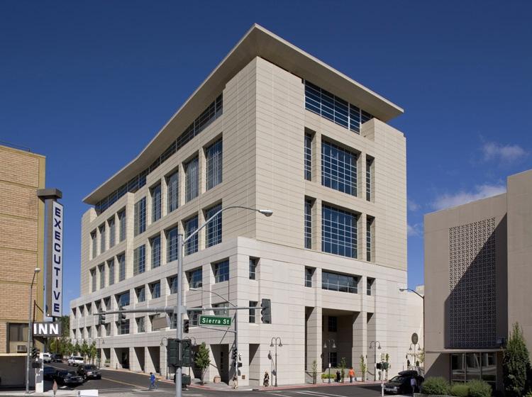 Mills B. Lane Justice Center Exterior