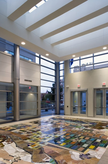 Mills B. Lane Justice Center Interior