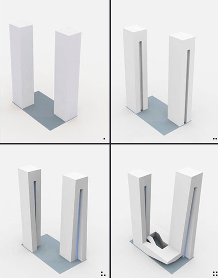B-Tec Twin Towers Study Models