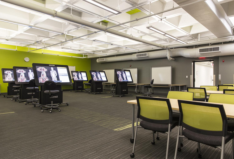 UNLV School of Medicine Virtual Anatomy Classroom