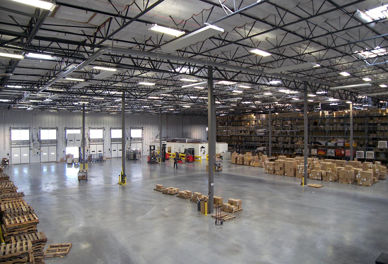 Patagonia Distribution Center Interior