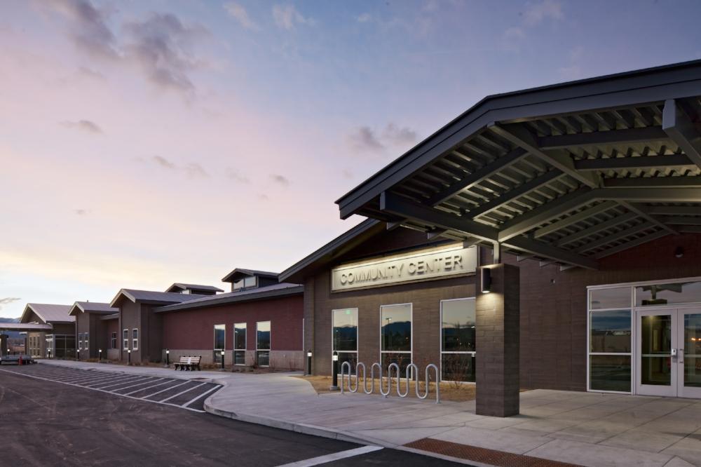 Douglas County Community Center Entrance Exterior