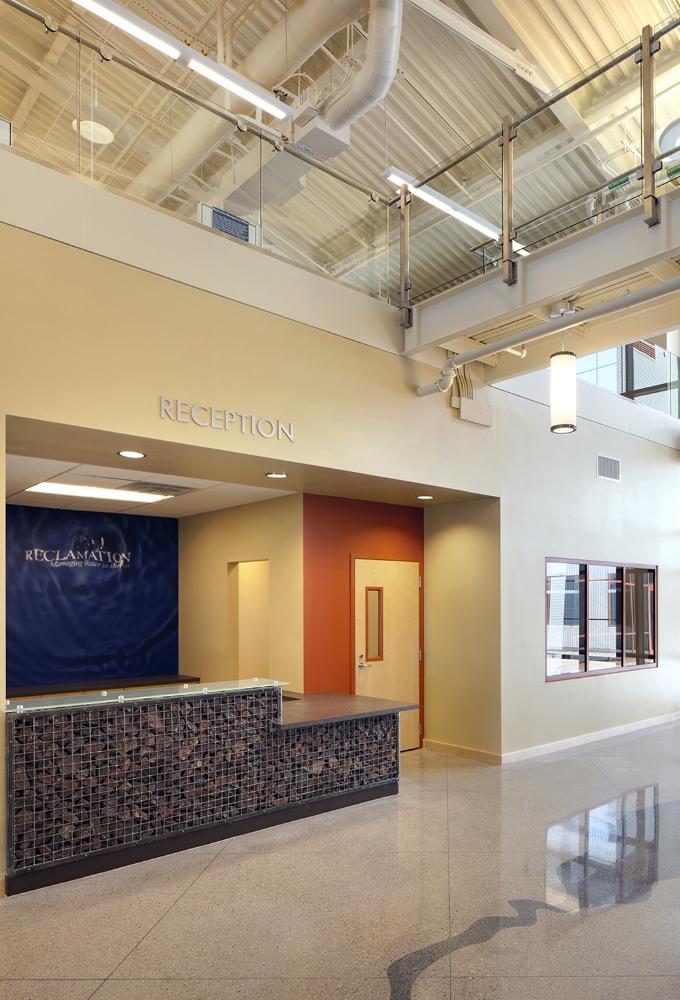 US Bureau of Reclamation Administration Building Lobby