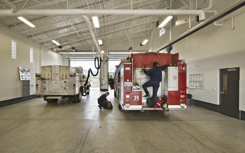 Mogul Fire Station 35 Interior