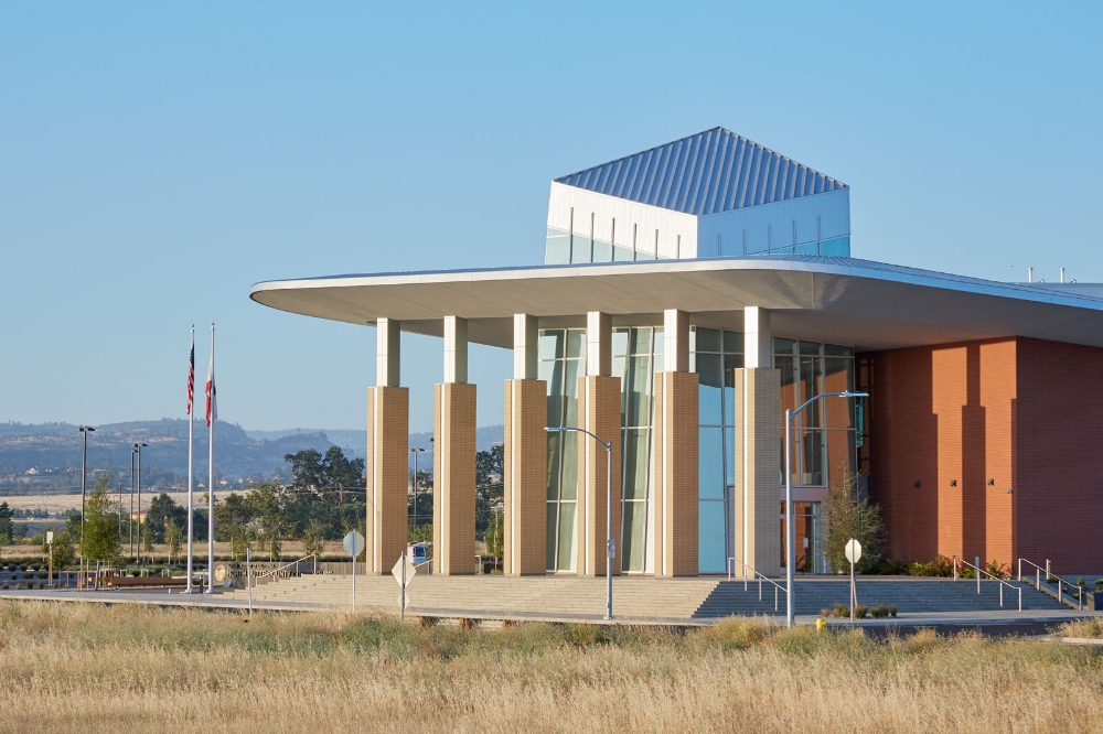 North Butte County Courthouse Exterior