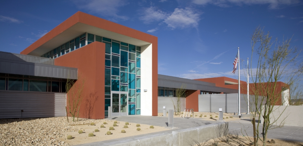 Henderson North Community Police Station Exterior