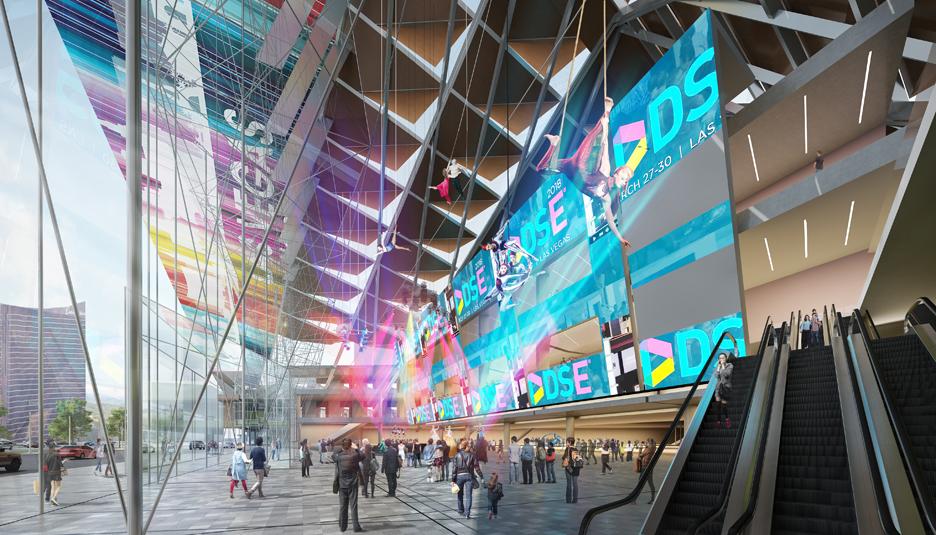 Las Vegas Convention Center Lobby