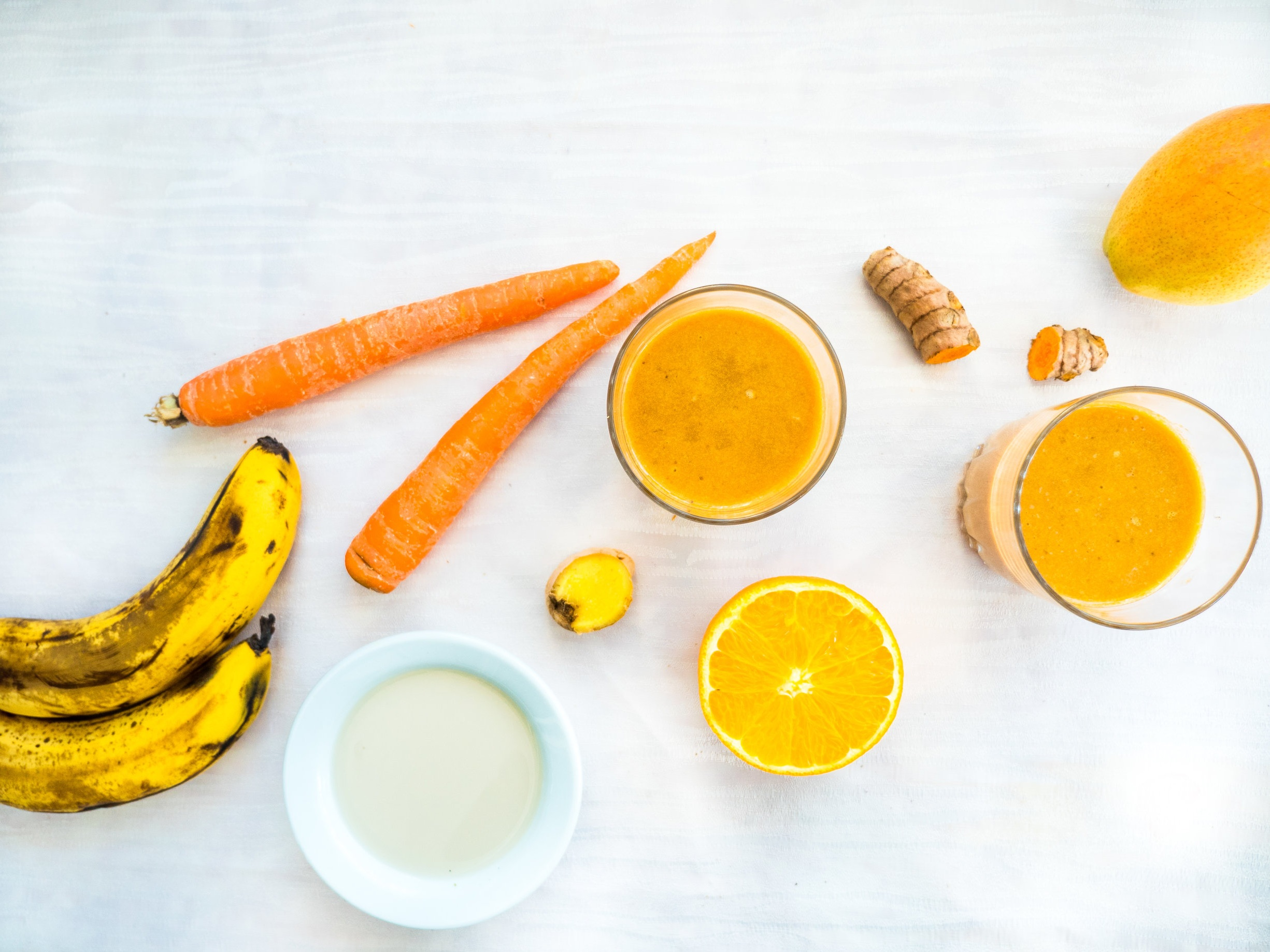 Anti-Inflammatory Carrot, Ginger & Turmeric Smoothie — Ann