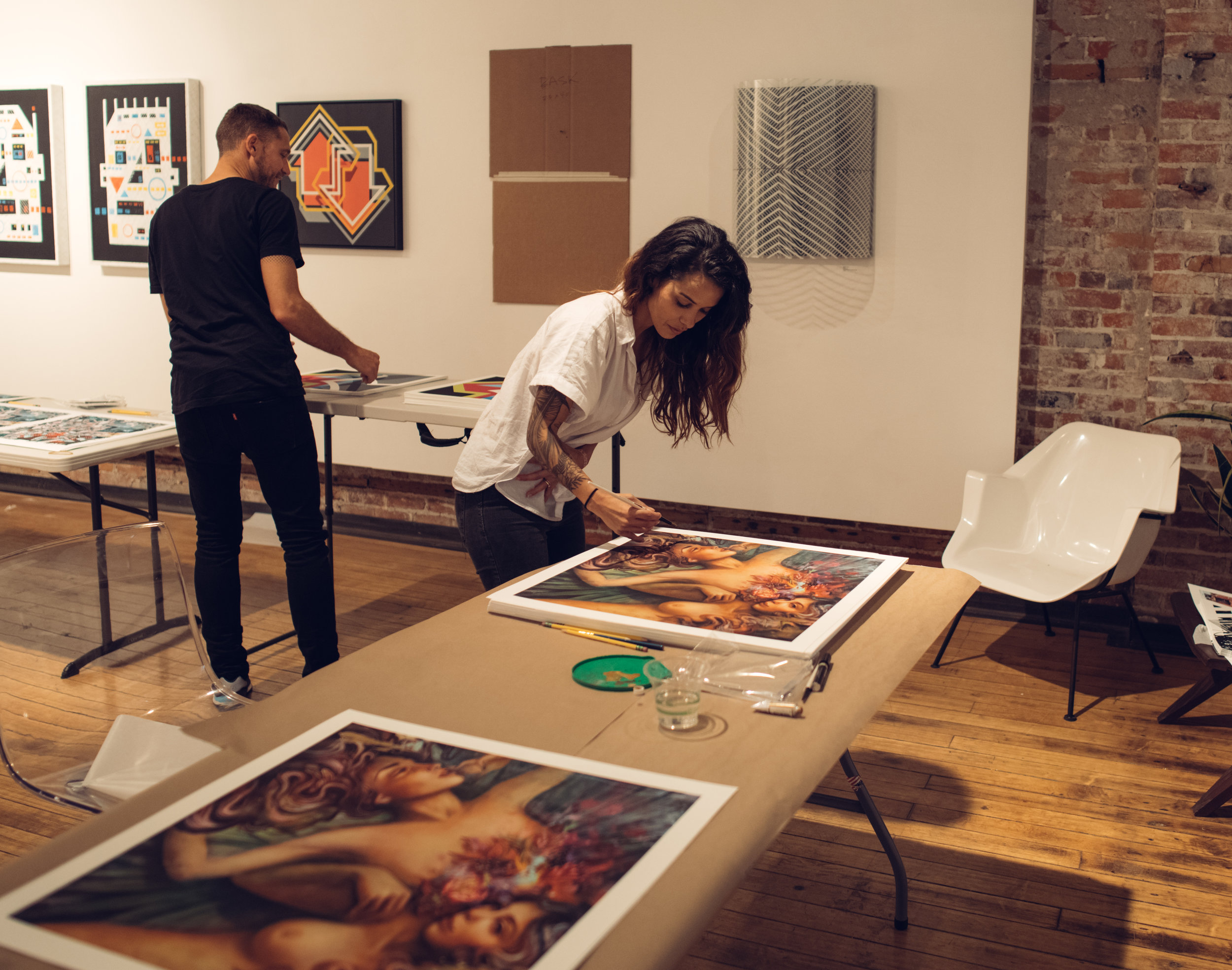 SERVICE STREET BBQ & PRINT SIGNING  at Inner State Gallery