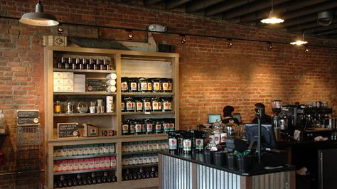 Germack Coffee  Eastern Market   Part coffee shop, part tea and spice shop this family owned joint offers small batch roasted coffee from all over the world in addition to tasty treats and made in Michigan goodies.    2517 Russell 313.784.9484   Website