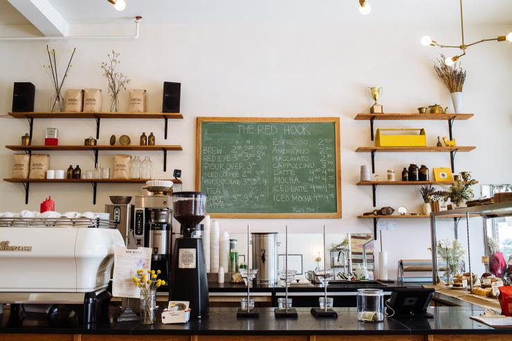 Red Hook  West Village   Serving up amazing coffee and pastries, this airy and bright shop is great for a chill breakfast or afternoon snack. Be sure to check out the Ouizi (MITM alum) mural across the street.   8025 Agnes 313.458.8761   Website