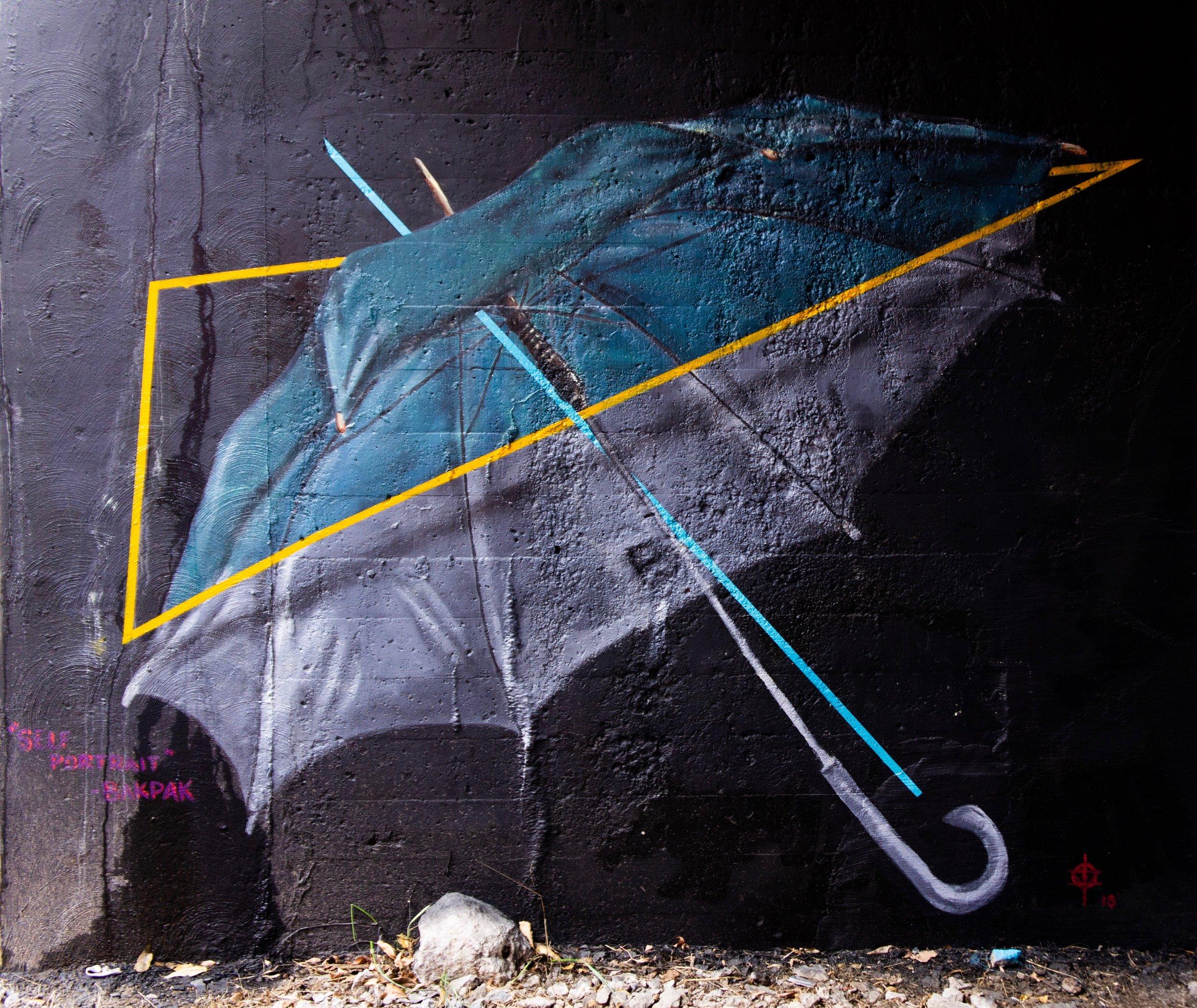 Bakpak Durden - Self Portrait: Umbrella