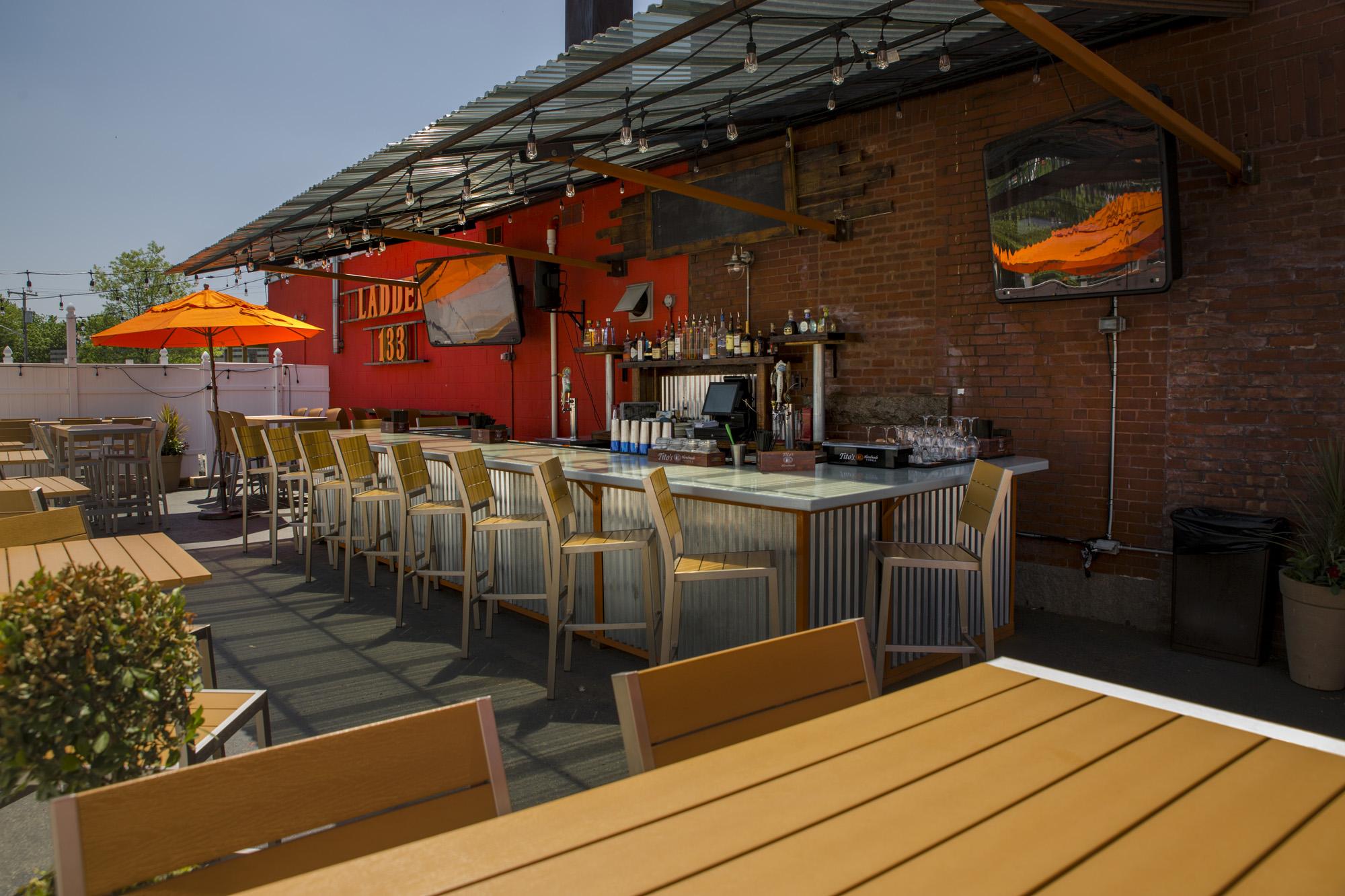 Relax Outside Full Bar Full Menu. -