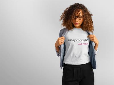 Unapologetic shirt (Women's)