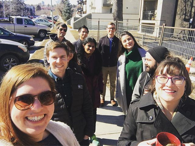 Warmer days mean office walks - we're loving this warmer weather #officewalk #healthyoffice #blueskies #spring #sunalta