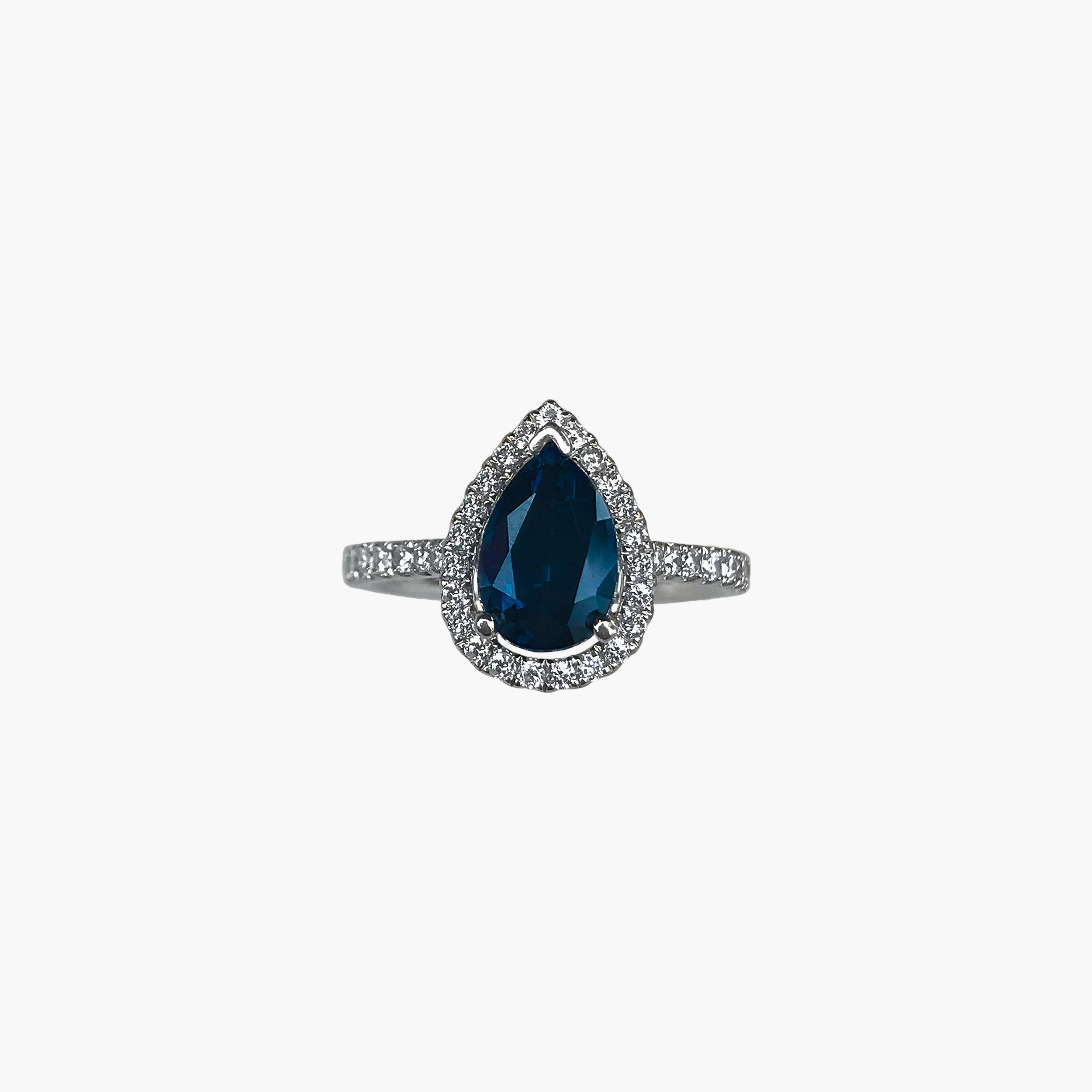 MONTANA SAPPHIRES — Stephen Isley Jewelry