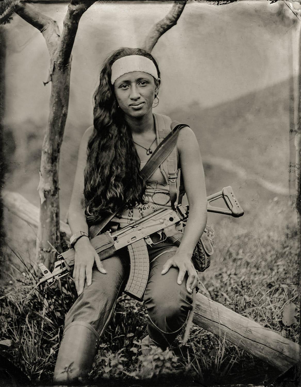 Maritza (Demobilized FARC Member) - By:Zachary Krahmer  www.zachkrahmer.com