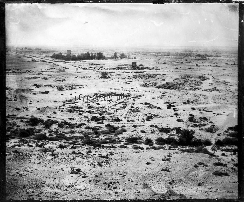 The Negev Desert with Roman Temple - By:Dror Maayan  https://www.alternativestudiophotos.com/
